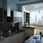 минимализм хай-тек кухни