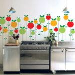 декор стен на кухне 04а