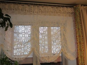 текстиль шторы в кухне 04a