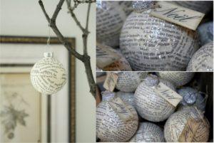 шары для елки своими руками