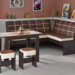 монолитный кухонный диван от икеа