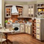 придание свежести старой кухонной мебели 10a