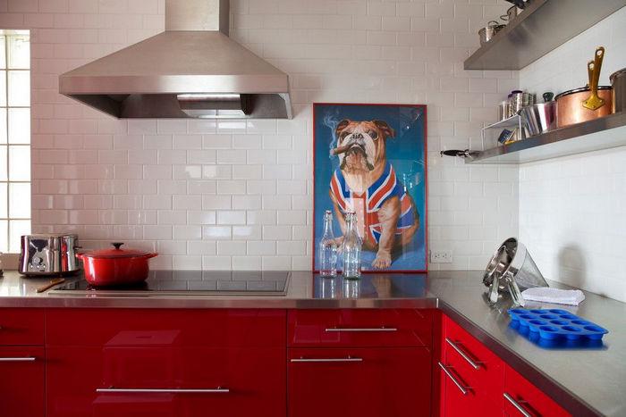 несложный рисунок для кухни 1012
