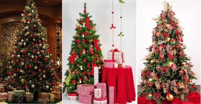 как нарядить елку на новый 2017 год петуха