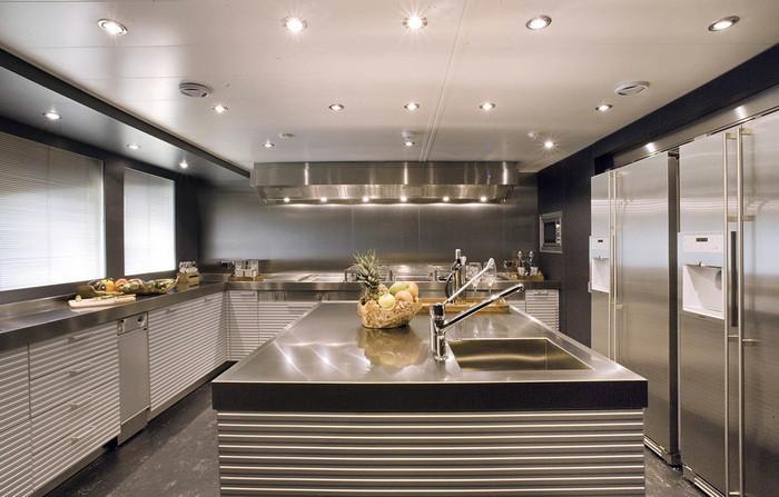 правильное устройство освещения в кухне
