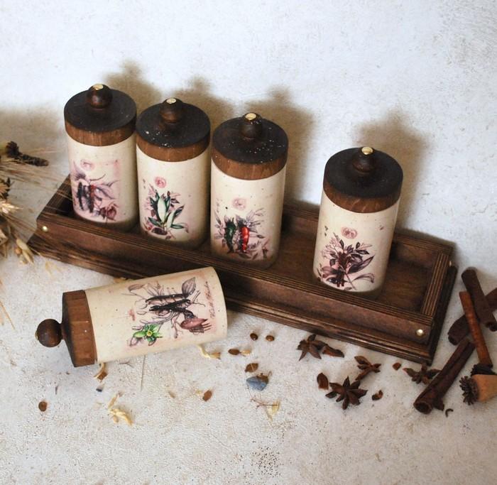 баночки для соли и специй