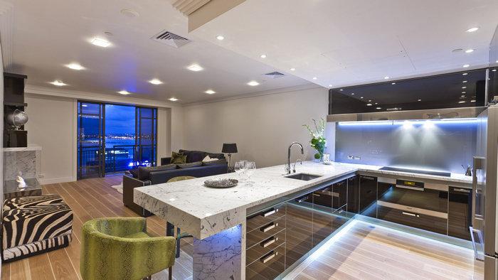 правильное устройство освещения в кухне 14a