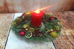 праздничная свеча