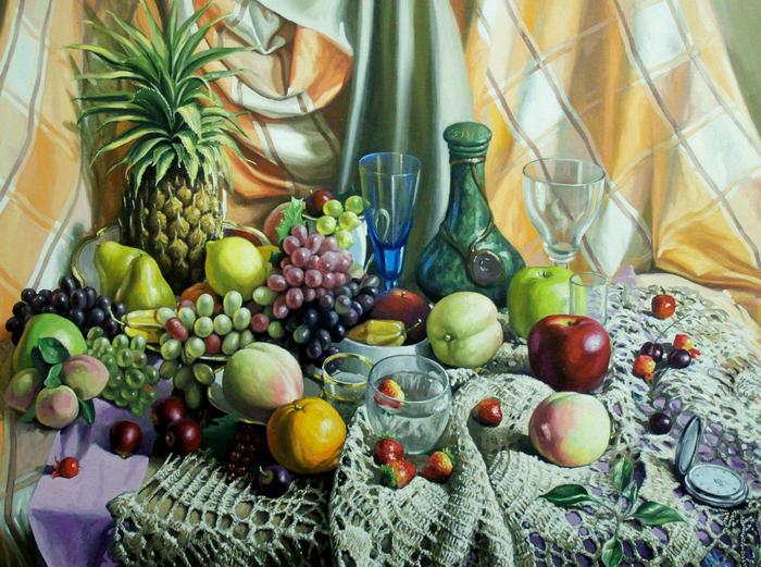 традиционные и натуралистические картины