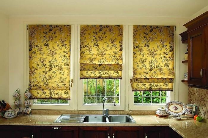 элегантные римские шторы