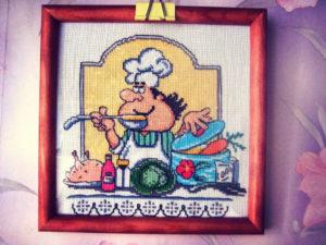 панно повар