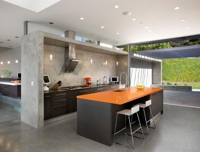 Стиль хай-тек для кухни 1616a