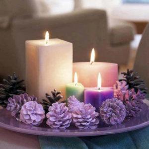квадратные 4 свечи