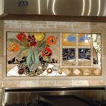 панно из мозаики - картины 17a