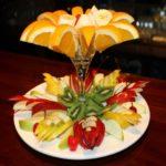 фруктовые праздничные закуски