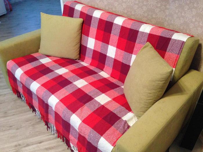 накидка на диван от икеа