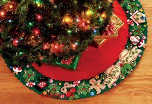 юбка для елки 2