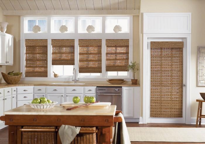 оригинальные кухонные шторы
