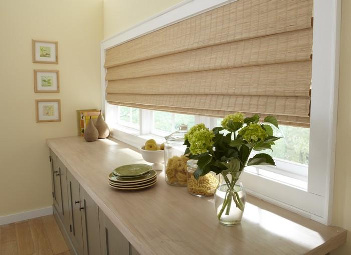 Бамбуковые шторы очень легкие