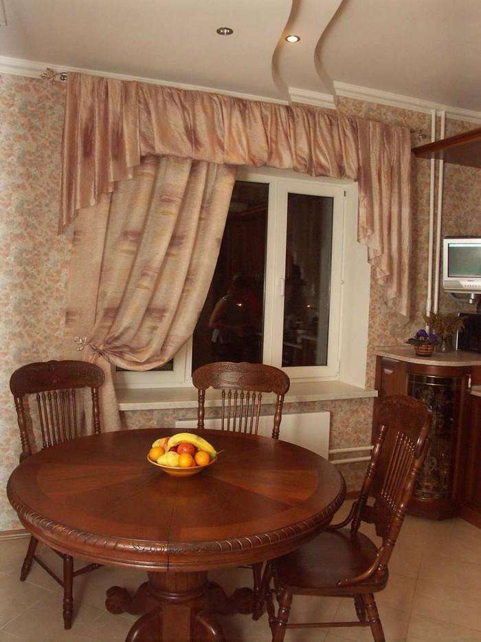 Классические шторы и ламбрекены 26