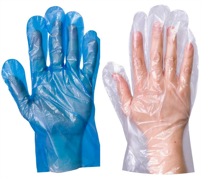 полиэтиленовые перчатки