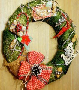 материалы для украшения и создания новогоднего венка 3