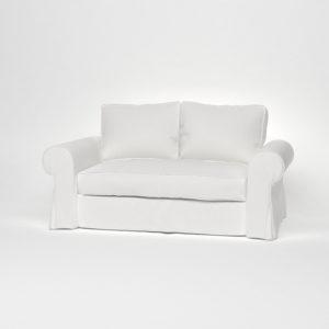 Чехлы съемные на белом диване от икеа