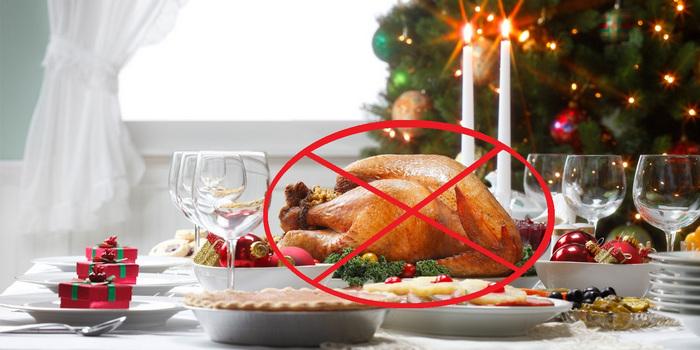нельзя есть курицу на Новый год 2017