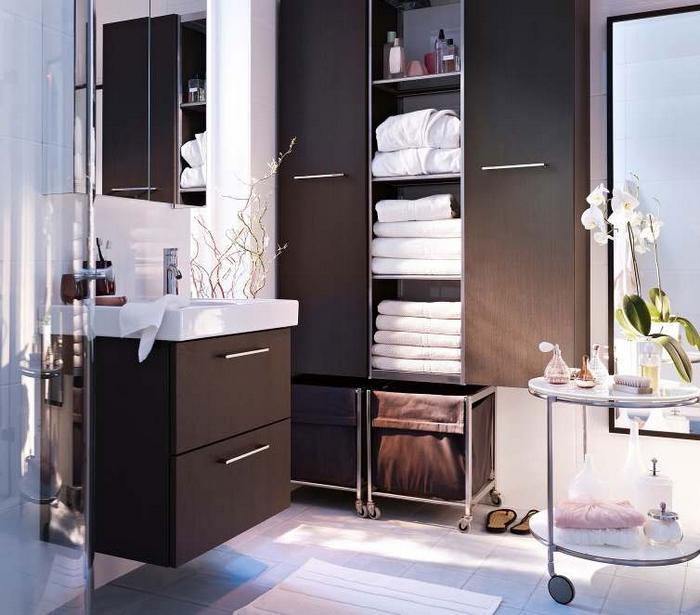 Идея дизайна ванной от ИКЕА