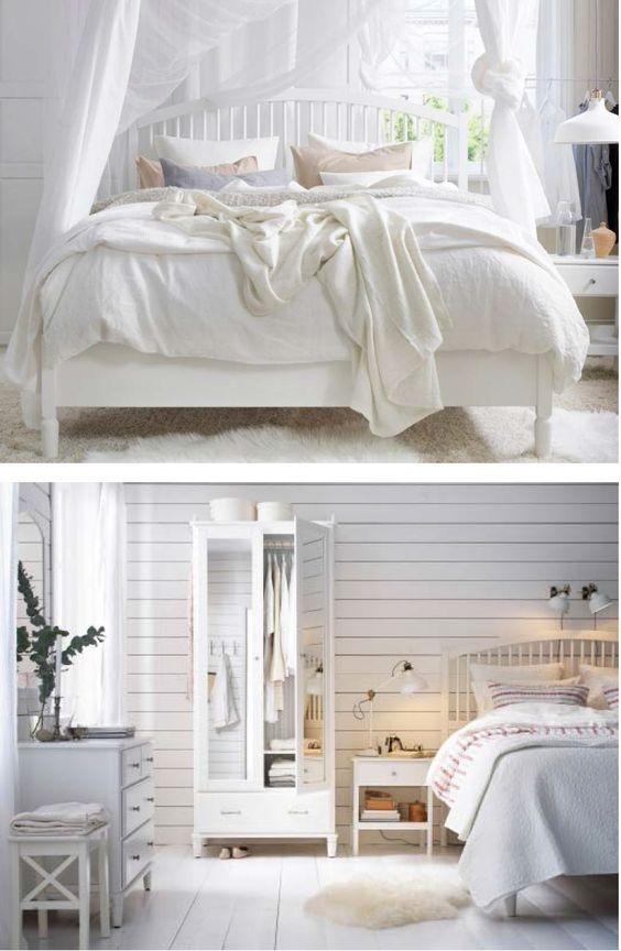 Изящная кровать ТИССЕДАЛЬ в интерьере спальни