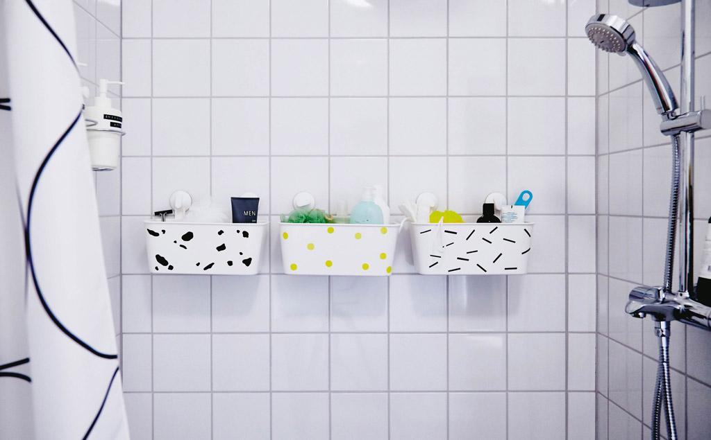 Корзинки для ванной СТУГВИК