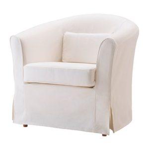 кресло икеа белое