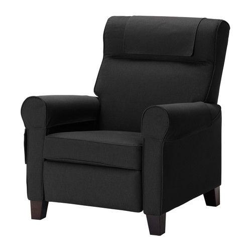 черное кресло икеа