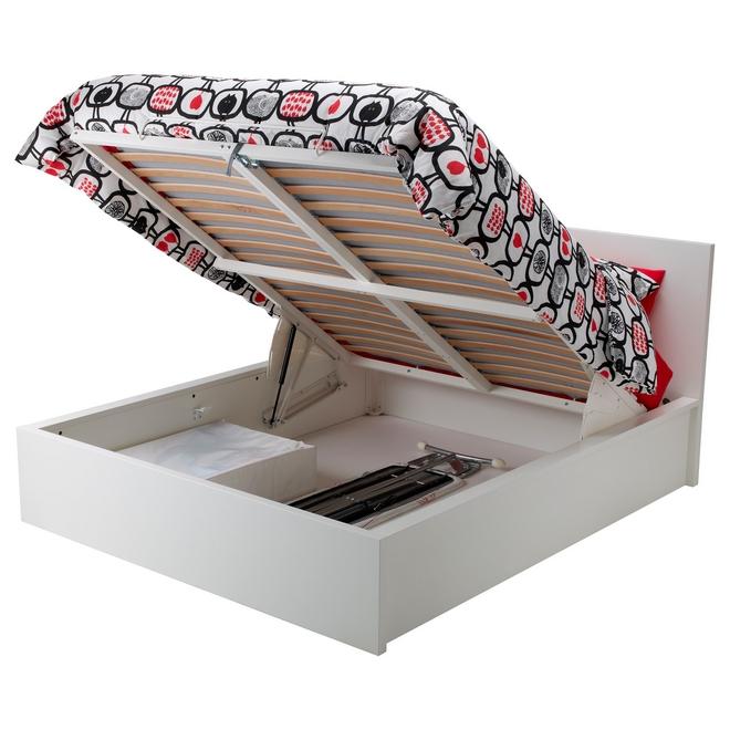 Кровать МАЛЬМ с подъемным механизмом