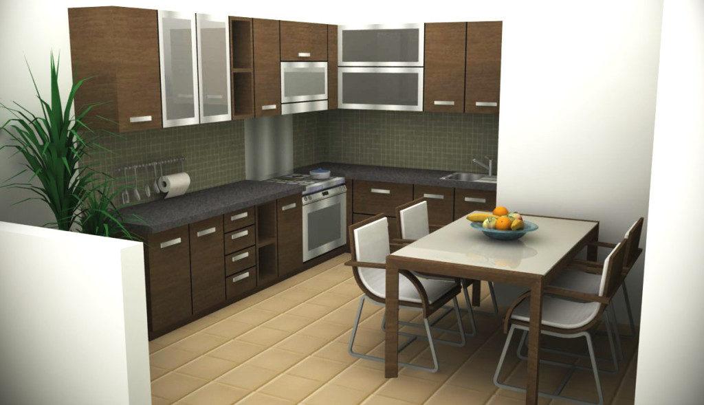 кухня 9м2 -12