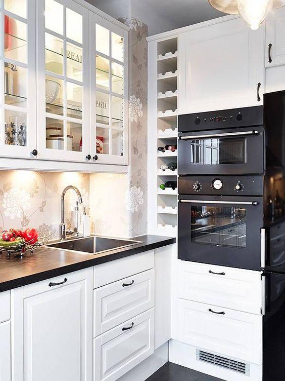 Кухня в шведском стиле