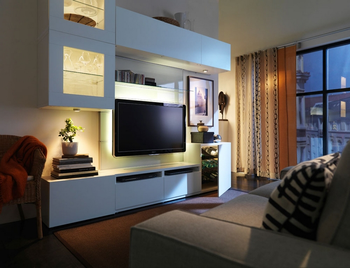Мебель ИКЕА для гостиной