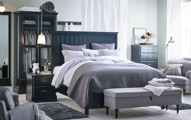 Мебель ИКЕА в спальне