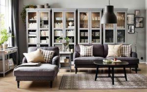 Мебель от ИКЕА в гостиной