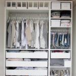 Открытый шкаф-гардероб