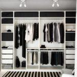 ПАКС в интерьере гардеробной