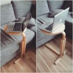 Подставка для ноутбука из табуретки