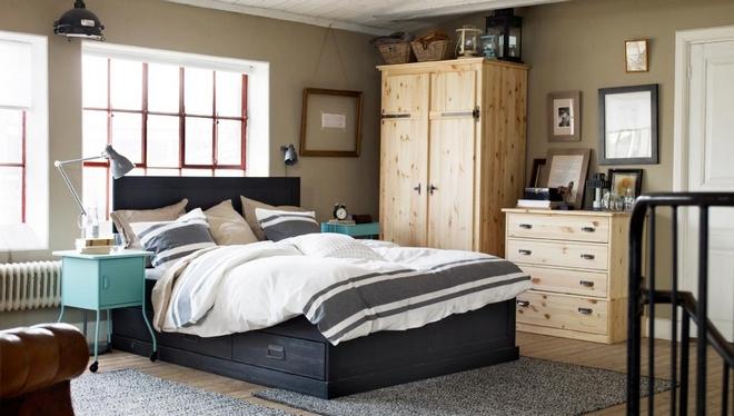 Привлекательная спальная мебель ИКЕА