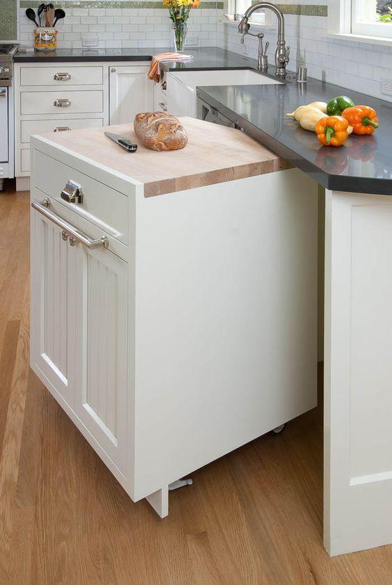Рациональное использование кухонной площади