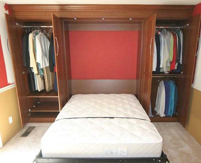 Шкаф-кровать от ИКЕА