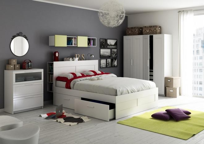Стильная спальня от ИКЕА