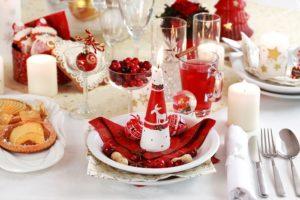 идеи новогоднего стола