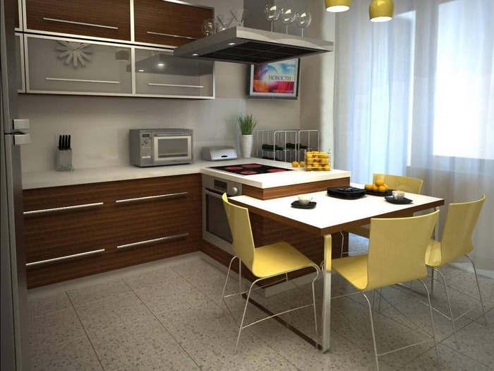 выборе кухонной мебели