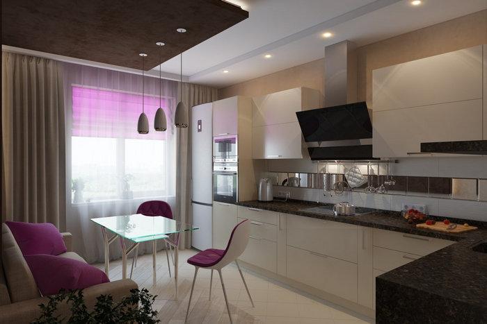 Геометрические формы и планировка помещения