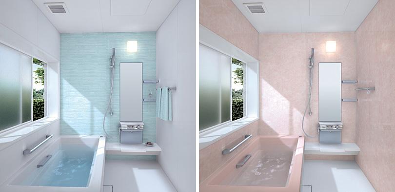 Цветовое оформление маленькой ванной